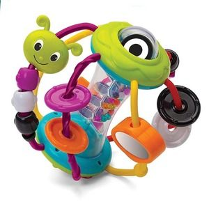 🍁 Infantino Rattle ball teether & for motor skill